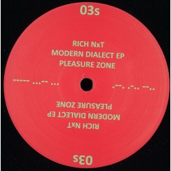 Rich Nxt - Modern Dialect Ep