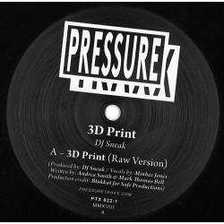 DJ Sneak - 3D Print